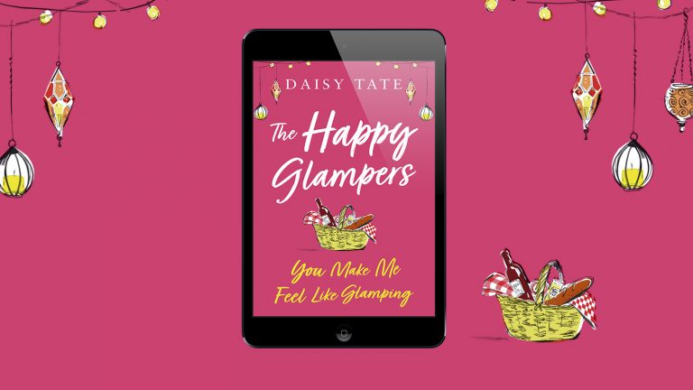 the happy glampers book Daisy Tate
